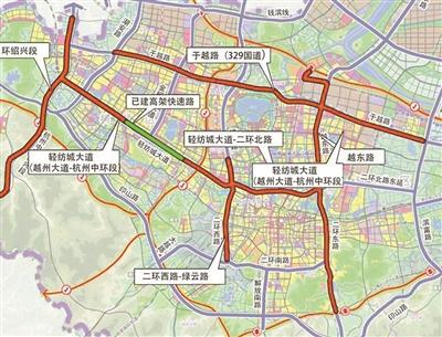 杭绍城铁、杭绍台高速全线都将在明年通车 绍兴杭州同城生活指日可待