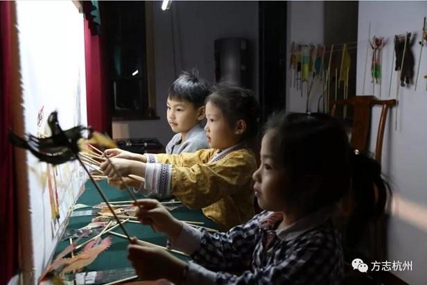 汉服 杭州 方志馆 九州汉学 皮影戏