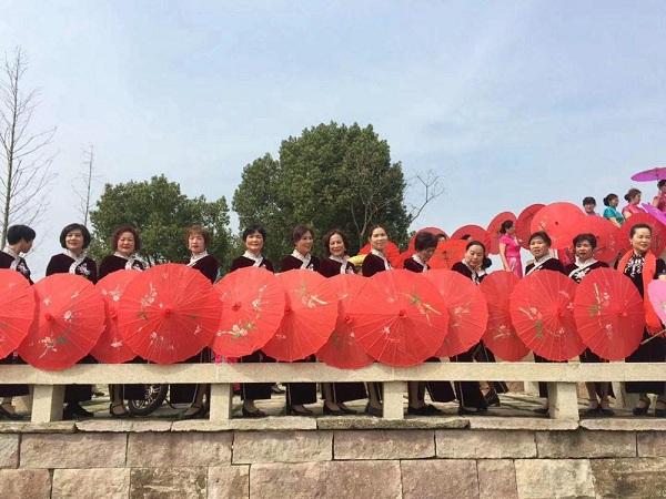 旗袍,文化礼堂,家乡,西湖区三墩镇绕城文化礼堂,旗袍秀