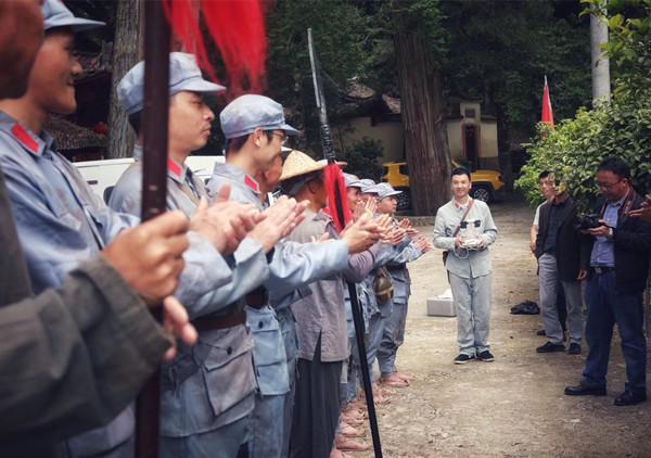 《挺进师》,周勇,粟裕,浙江泰顺卢梨,斋朗村