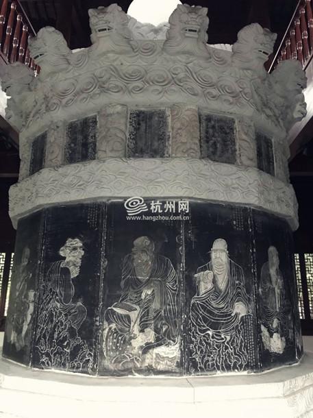 南宋太学石经,太学石经,杭州孔庙,孔庙,太学