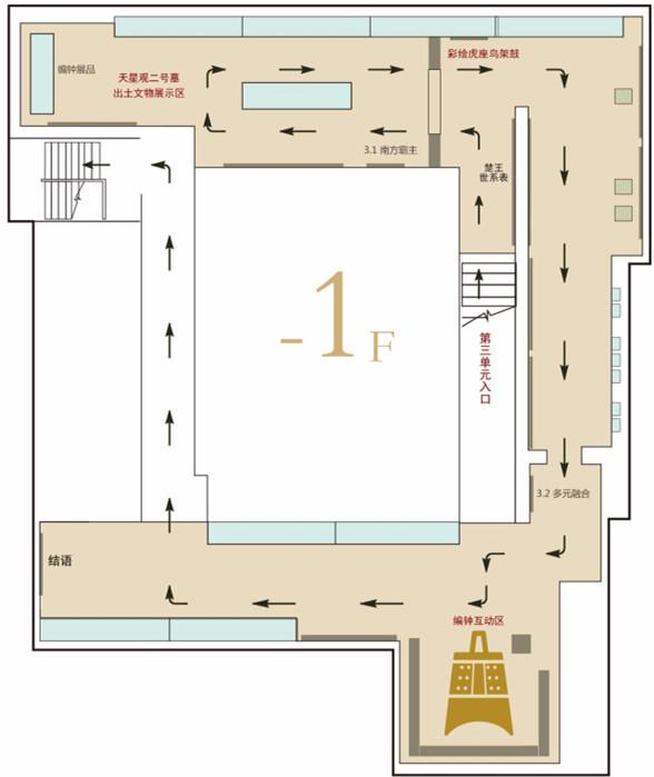 浙江省博物馆展厅,吴越楚文物,春秋,浙江省,博物馆