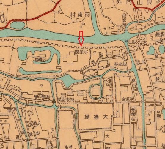 1946《最新杭州市地图西湖全图》(局部)