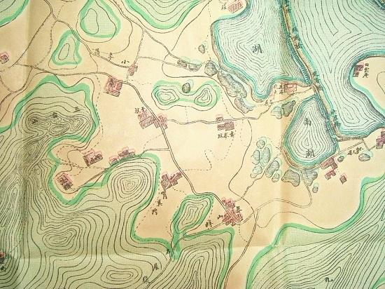 杭州老地图,杭州城墙,西湖地图,杭州满城地图,林晓风