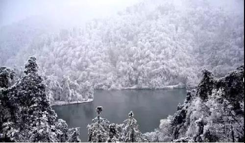 傲雪如山,如画大明山,形容的就是大明山雪后的美景.